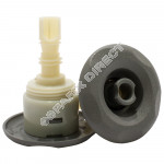 Mini Storm Grey Directional 5-Point Textured (Thread in)